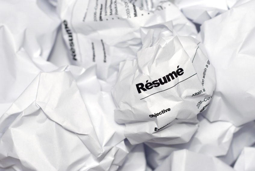 TOP 10 RESUME MISTAKES TO AVOID